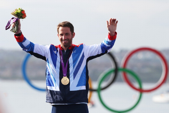 Ben Ainslie london 2012