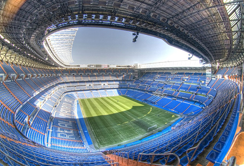 Bernabeu Stadium roof