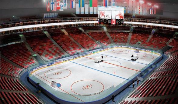 Bolshoi Ice Palace inside