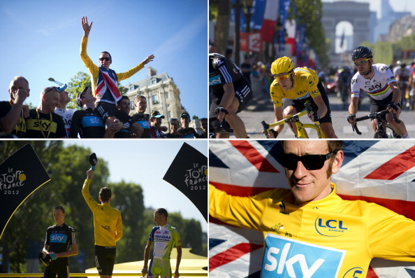Bradley Wiggins montage from Tour de France July 22 2012