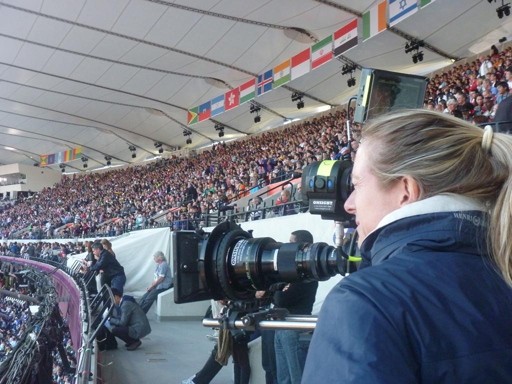 Caroline Rowland at Olympic Stadium resized