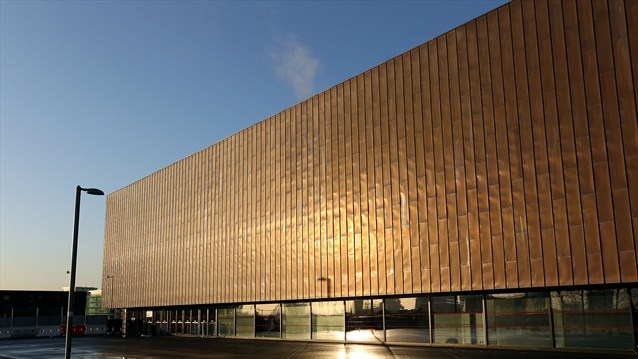 Copper Box exterior