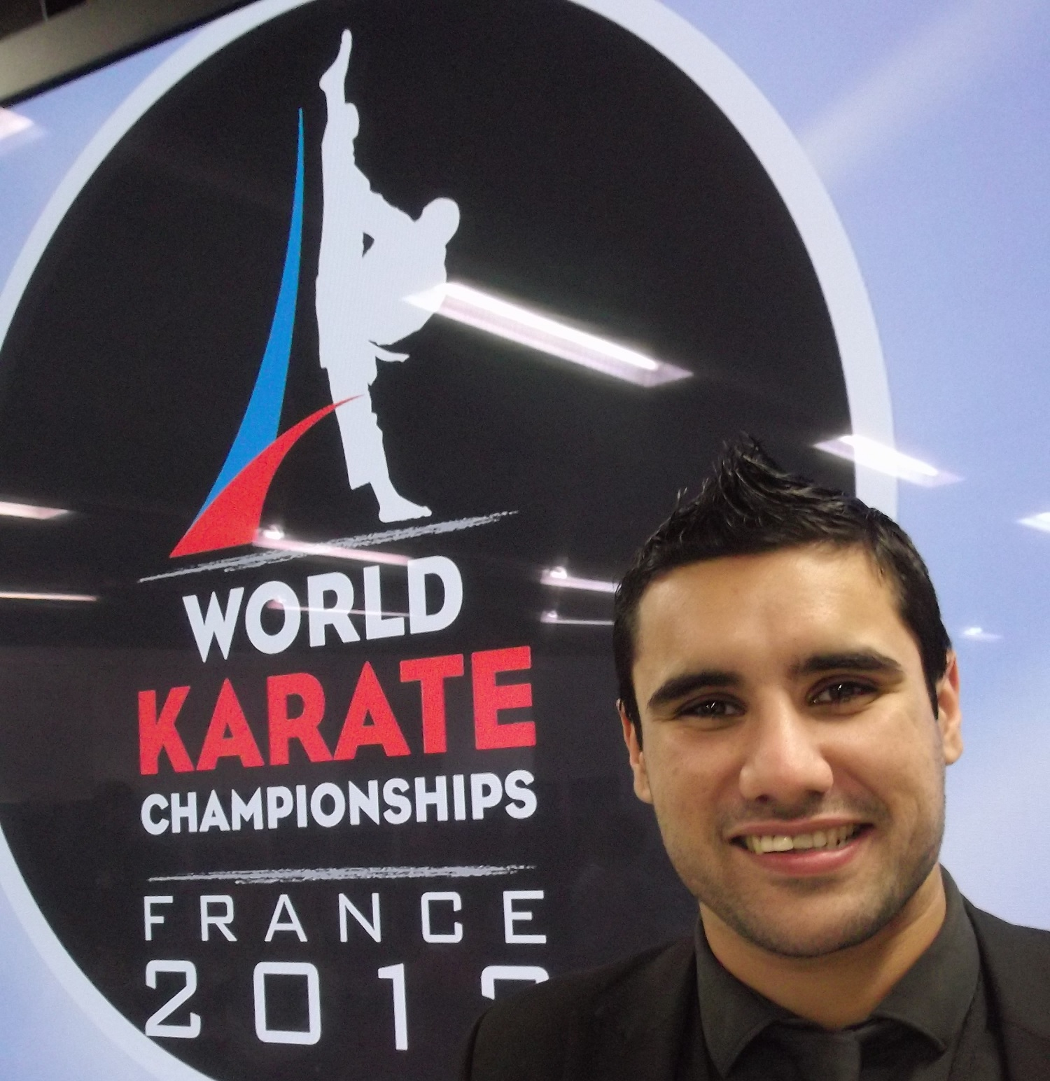 Tom Degun at World Karate Championships Paris November 25 2012