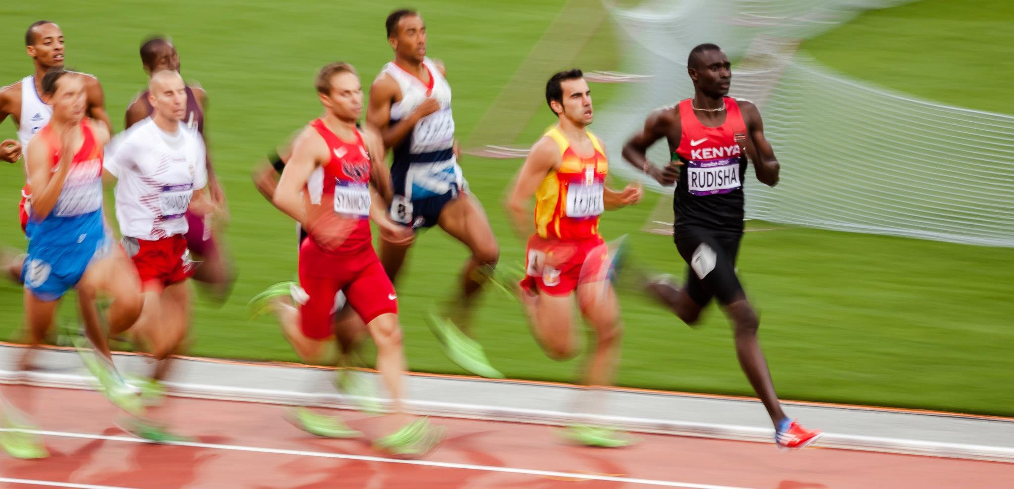 David Rudisha London 2012 800m final