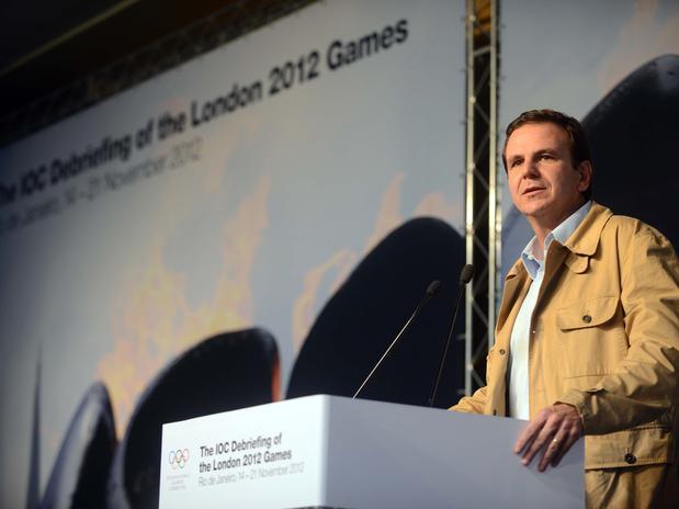 Eduardo Paes at London 2012 debrief November 17 2012