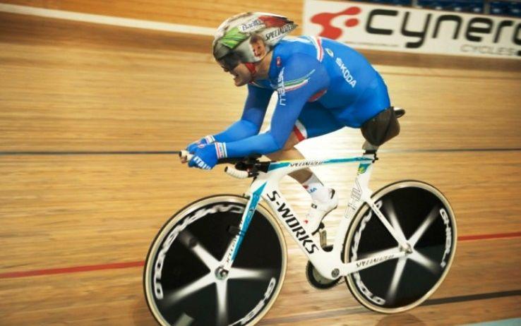 Fabrizio Macchi on bike