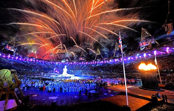 Fireworls London 2012 Paralympics Nov 11