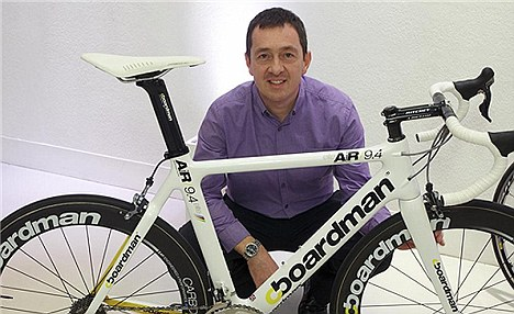 Former Tour de France competitor Chris Boardman sells his cycles exclusively through Halfords