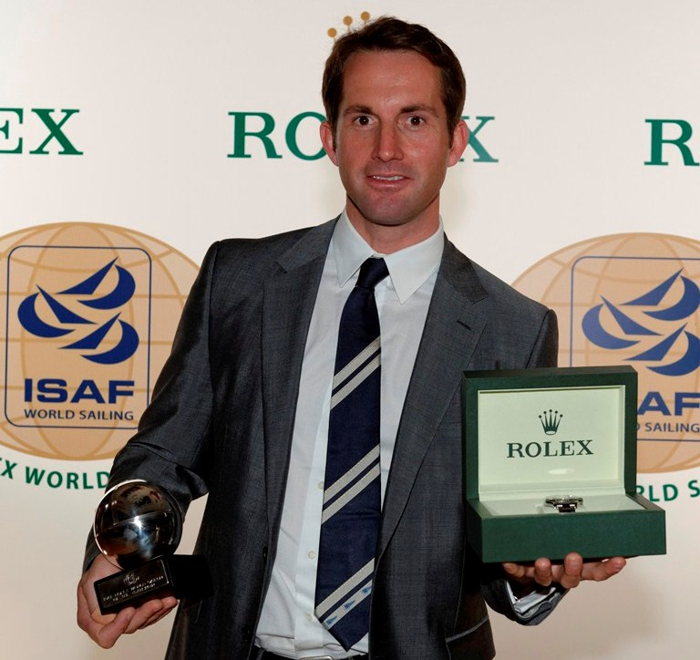 ISAF Rolex World Sailor of the Year Awards 2012 Ben Ainslie
