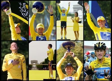 Lance Armstrong Tour de France victories