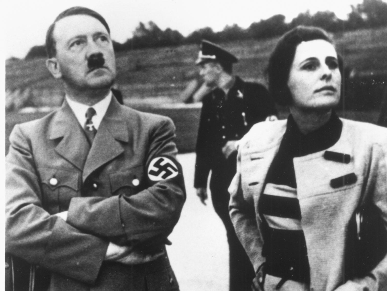 Leni Riefenstahl with Hitler
