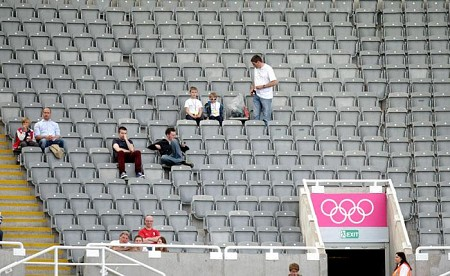 London 2012 empty seats