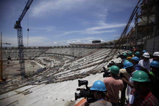 Maracana work November 19 2012
