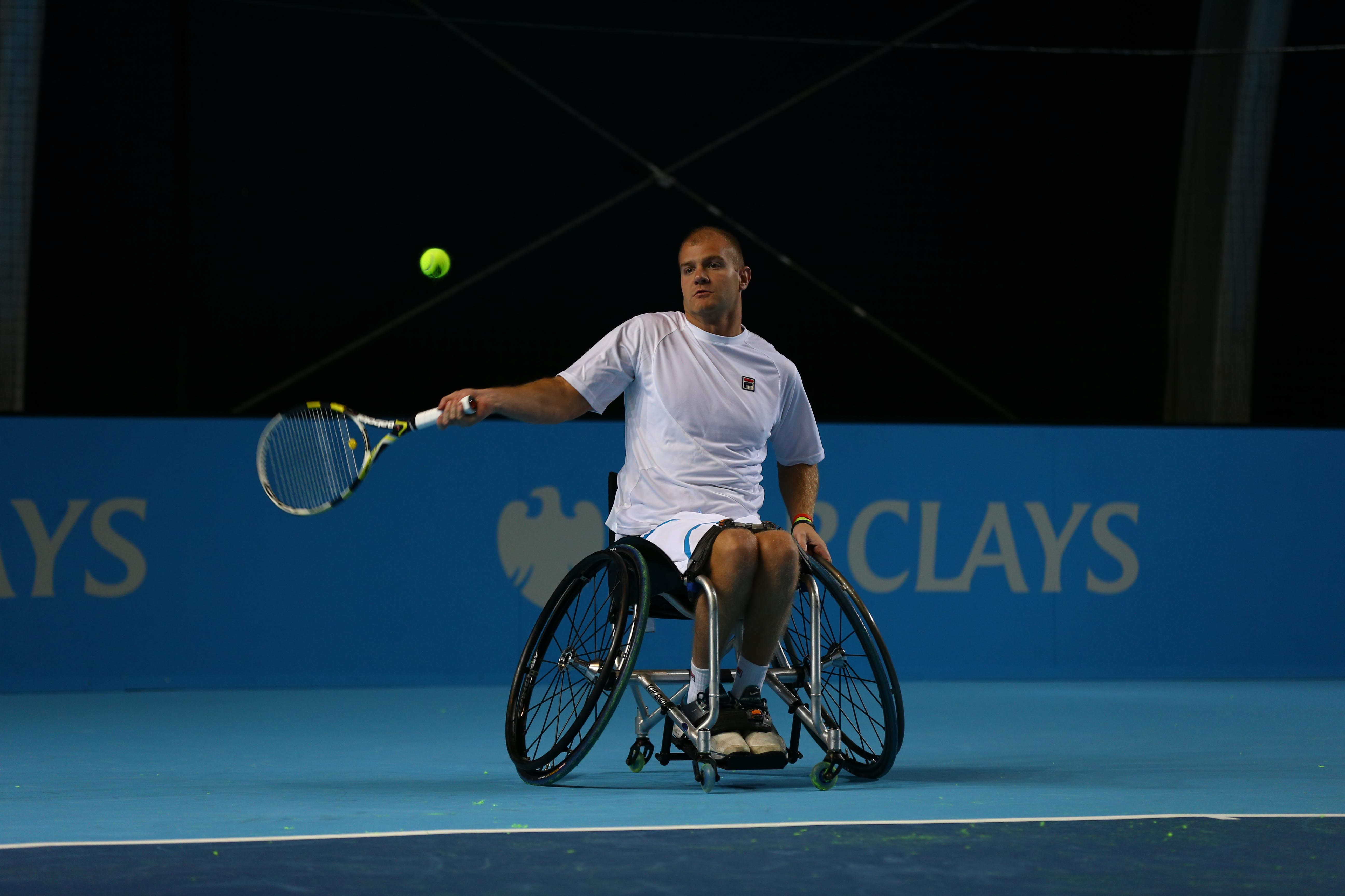 Marc McCarroll  at ATP World Tour Final November 6 2012