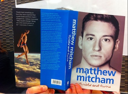 Matthew Mitcham book Twists and Turns