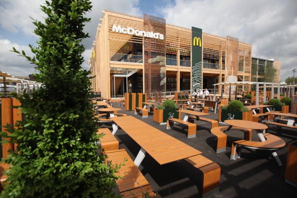 McDonalds London 2012 Olympic Park