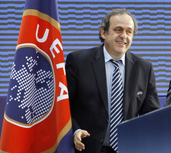 Michel Platini 28-11-12