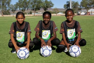 Namibia girls football team