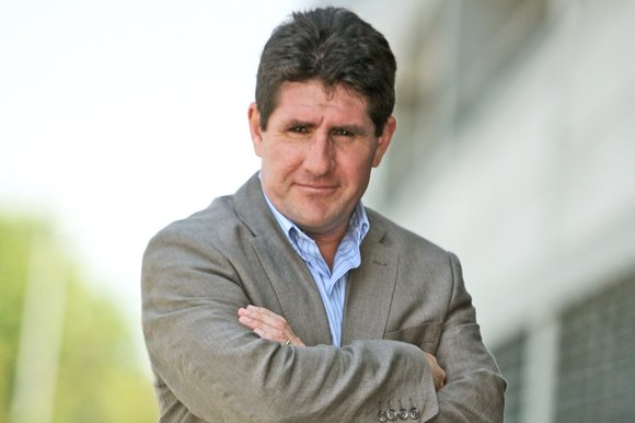 Paul Kimmage head and shoulders