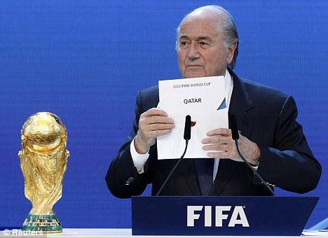 Qatar bid Blatter Nov 18