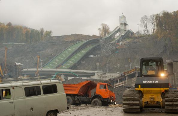 RusSki Gorki Jumping Centre 08-11-12