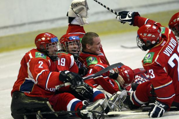 Russia ice sledge hockey