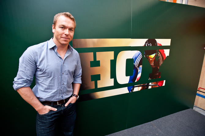 Sir Chris Hoy launches bike range