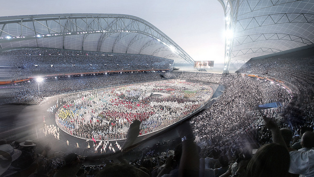 Sochi 2014 Olympic Stadium Opening Ceremony