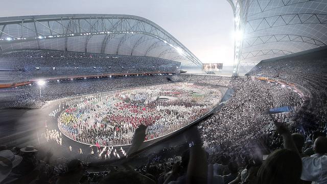 Sochi 2014 Olympic Stadium Opening Ceremony