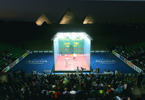 The revolutionary new glass courts in squash could allow the sport to take place in any iconic city location at an Olympic Games