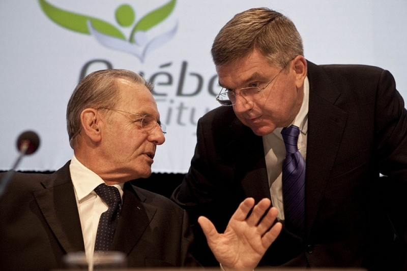 Thomas Bach with Rogge