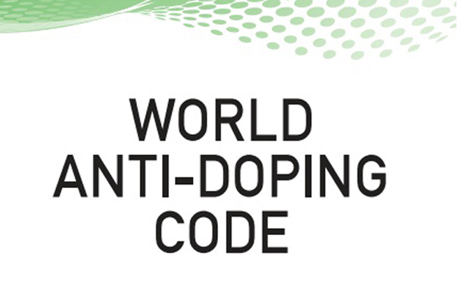 World Anti Doping Code book
