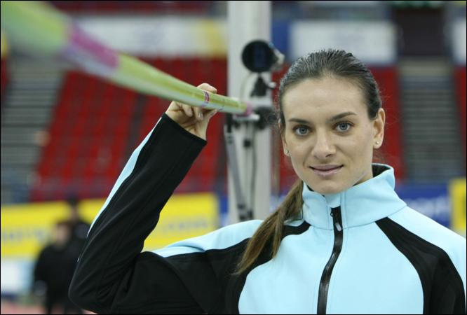 Yelena Isinbayeva at NIA