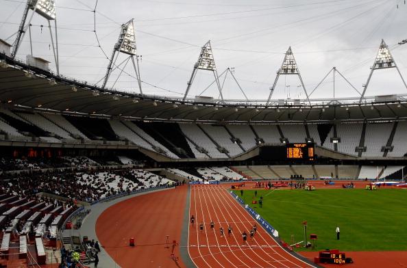 london 2012 Olympic Stadium track 07-11-12