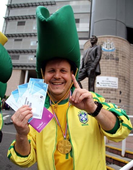 london 2012 football tickets