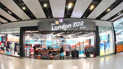 london 2012 merch shop