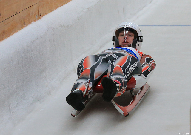 luge track training sochi 2014