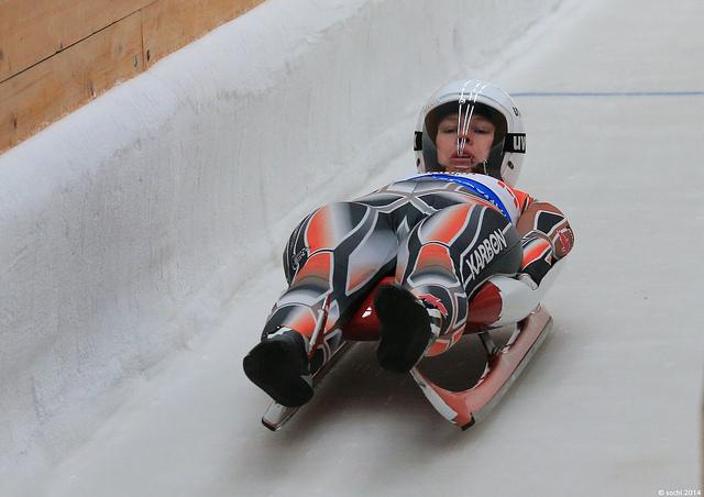 luge track training sochi 2014