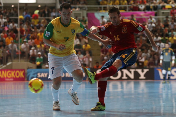 FIFA Fustal World Cup Brazil v Spain