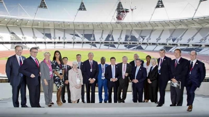 IAAF athletics race Olympic Stadium