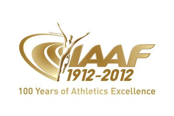 IAAF centenary logo