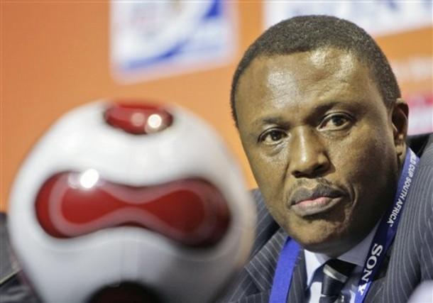 Irvin Khoza behind football