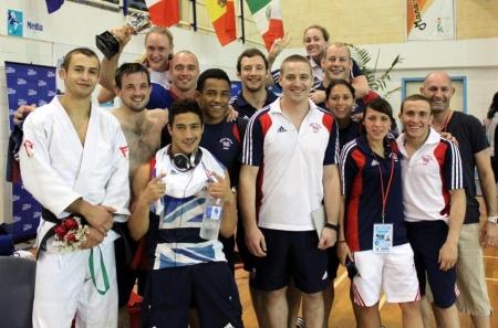 Judo GB team in Samoa