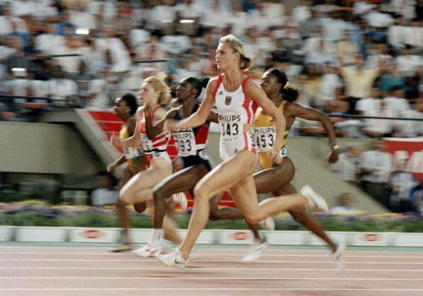 Katrin Krabbe in Tokyo 1991