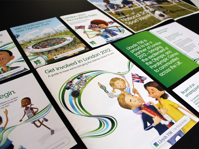 Lloyds TSB advertising material