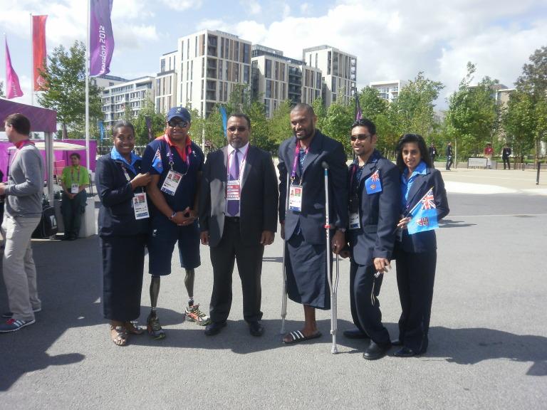 London 2012 Paralympic Village Fiji