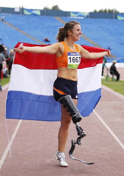 Marije Smits wins F42 long jump Christchurch January 23 2011