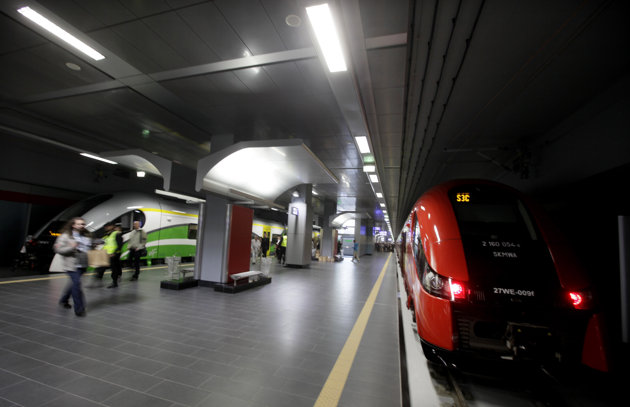 New train built for Euro 2012 in Poland