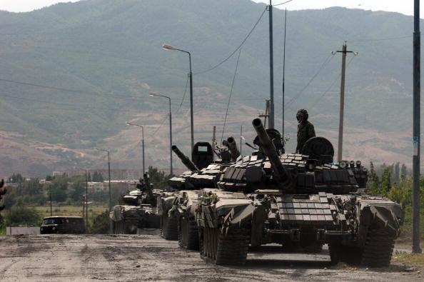 Russian invasion of Georgia August 2008