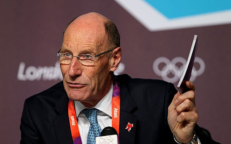 Sir John Armitt at London 2012